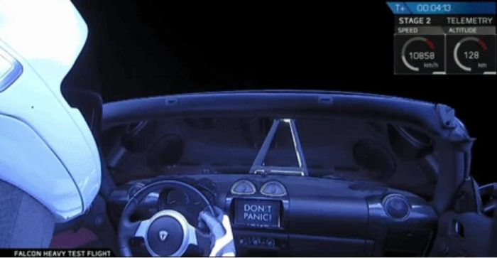 falcon heavy don't panic