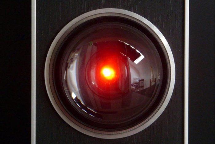 HAL 9000 in 2001 Odissea nello spazio di Stanley Kubrick, 1968