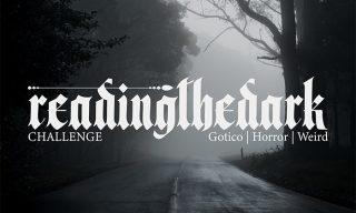 readingthedark challenge letteraria di gotico horror weird